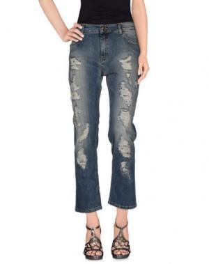 Джинсовые брюки DORALICE. Цвет: синий