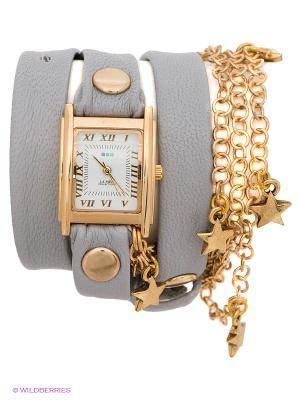 Часы La Mer Collections. Цвет: серый, золотистый