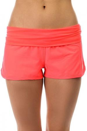 Шорты пляжные женские  Endless Summer Neon Grapefruit Roxy. Цвет: розовый
