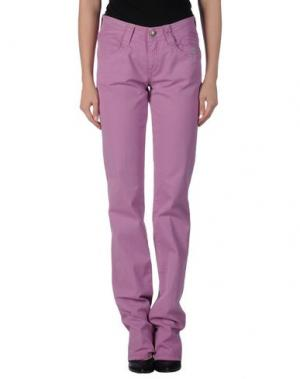 Повседневные брюки CARLO CHIONNA. Цвет: светло-фиолетовый