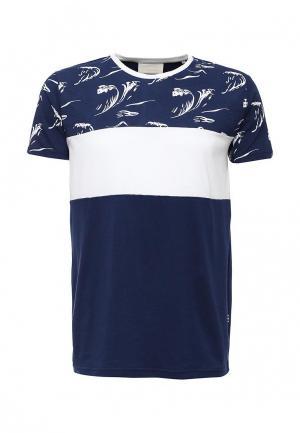 Футболка Tailored. Цвет: синий