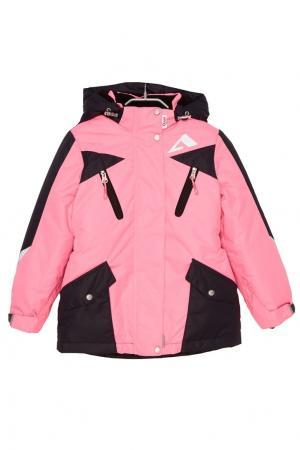 Костюм с розовой курткой Oldos. Цвет: розовый