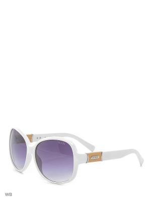 Солнцезащитные очки GUF 0237 T50 WHT-35 GUESS. Цвет: белый