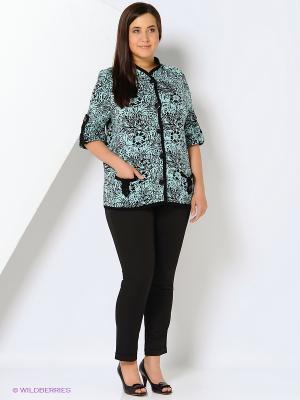 Жакет Milana Style. Цвет: бирюзовый, зеленый