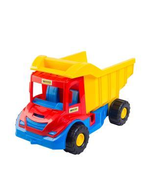 Multi truck грузовик ТИГРЕС. Цвет: желтый, синий, красный
