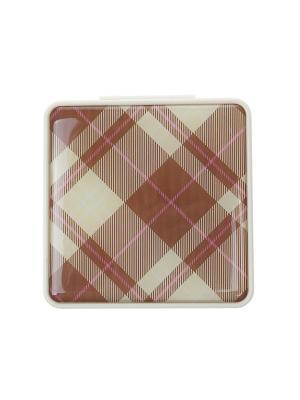 Зеркальце Happy Charms Family. Цвет: молочный, коричневый, розовый