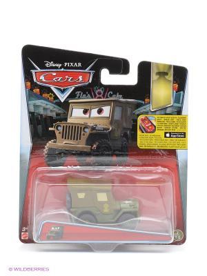 Машина Тачки 2 Mattel. Цвет: коричневый, прозрачный, черный, зеленый