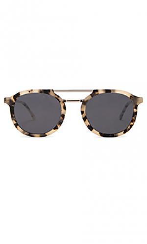 Солнцезащитные очки gilles Komono. Цвет: кремовый