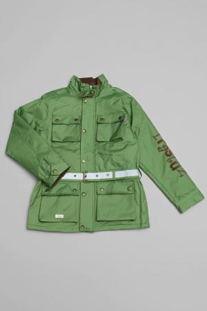 Куртка Trasluz. Цвет: зеленый