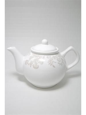 Чайник Лиана Mitya Veselkov. Цвет: белый