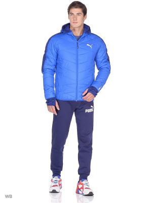 Куртка PWRWarm HD Insulation JACKET PUMA. Цвет: голубой, синий