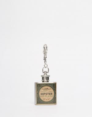 Temerity Jones Кольцо для ключей с фляжкой Gentlemans. Цвет: мульти