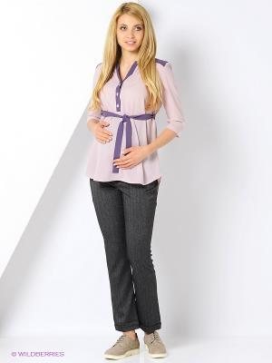 Блузка для беременных и кормящих FEST. Цвет: розовый, фиолетовый
