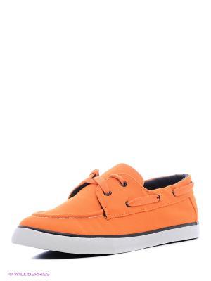 Мокасины 4U. Цвет: оранжевый