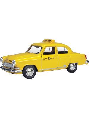 Машина ГАЗ-21 Волга желтое такси AUTOTIME. Цвет: желтый