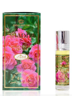 Арабские масляные духи Шадха (Shadha), 6 мл Al Rehab. Цвет: зеленый, малиновый
