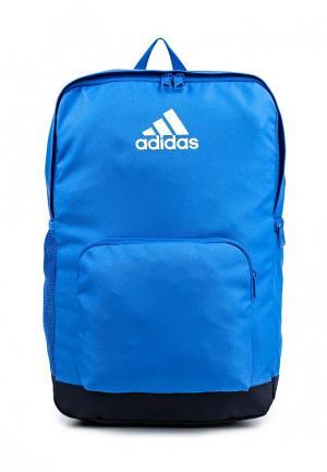 Рюкзак adidas Performance. Цвет: голубой