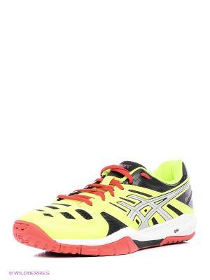 Кроссовки GEL-FASTBALL ASICS. Цвет: желтый, серый, красный
