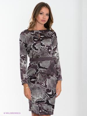 Платье TATUUM. Цвет: темно-коричневый, бордовый