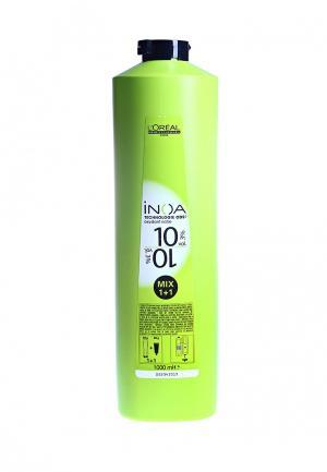Оксидент обогащенный 3% LOreal Professional L'Oreal. Цвет: зеленый