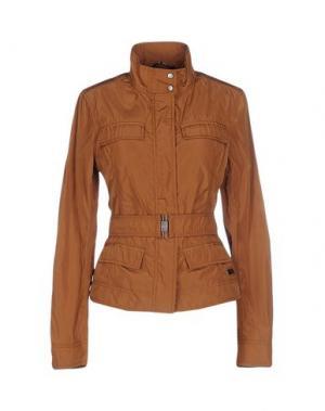 Куртка 313 TRE UNO. Цвет: коричневый