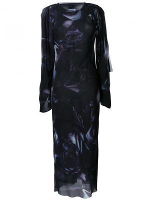 Платье Antique Rose Bianca Spender. Цвет: чёрный