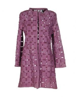 Легкое пальто CABAN ROMANTIC. Цвет: сиреневый