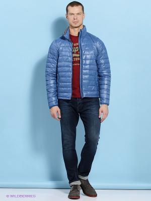 Куртка E-Bound by Earth Bound. Цвет: голубой