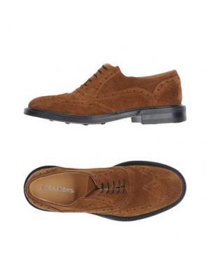 Обувь на шнурках JOHN BAKERY. Цвет: коричневый