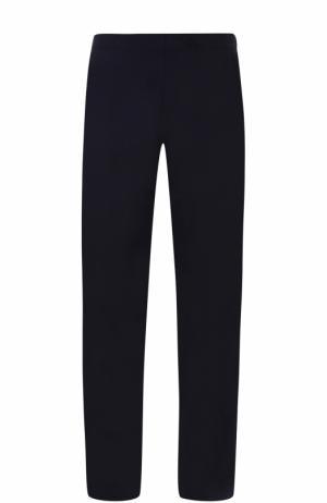 Домашние брюки из смеси хлопка и вискозы La Perla. Цвет: темно-синий