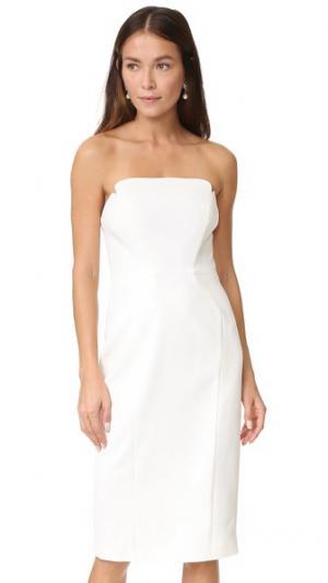 Миди-платье без бретелек Jill Stuart. Цвет: оттенок белого