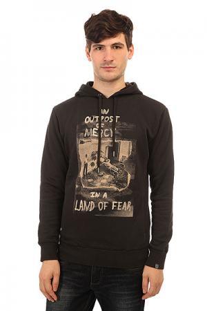 Толстовка кенгуру  Land Of Fear Hood Floyd Black Insight. Цвет: черный