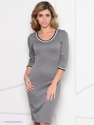 Платье Enna Levoni. Цвет: серый