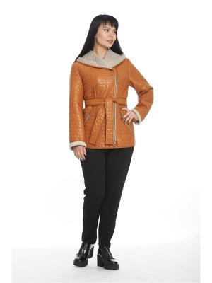 Куртка Лавелла Notte Bianca. Цвет: рыжий