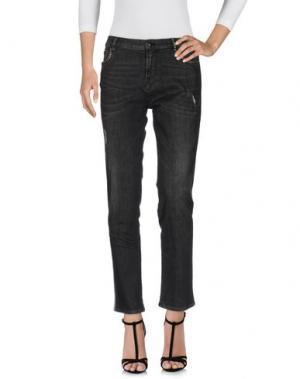 Джинсовые брюки MASON'S. Цвет: черный