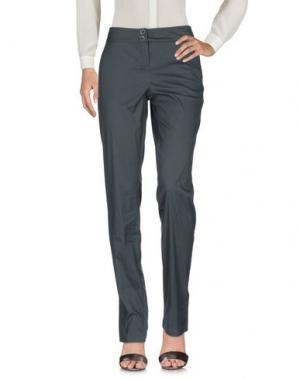 Повседневные брюки I BLUES. Цвет: темно-зеленый