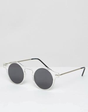 Spitfire Круглые солнцезащитные очки. Цвет: очистить