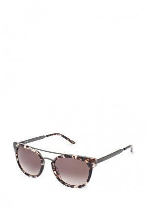 Очки солнцезащитные Roxy. Цвет: коричневый