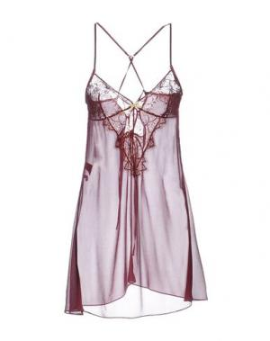Ночная рубашка ELLE MACPHERSON INTIMATES. Цвет: красно-коричневый