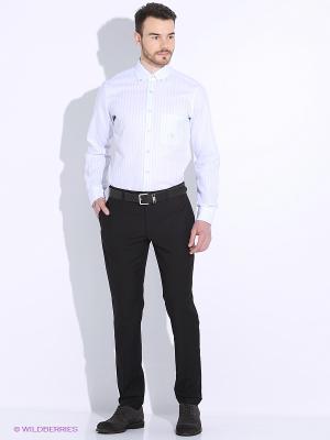Рубашка LUIGI FERRO. Цвет: голубой