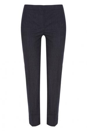 Шерстяные брюки Alexander Terekhov. Цвет: черно-белый