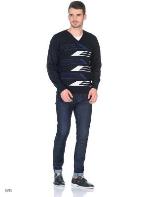 Пуловер FILPUCCI. Цвет: темно-синий