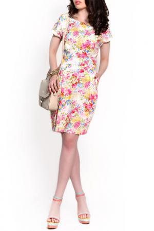 Платье FRANCESCA LUCINI. Цвет: кремовый