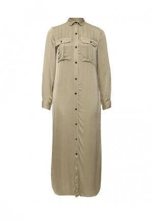 Платье Denim & Supply Ralph Lauren. Цвет: бежевый
