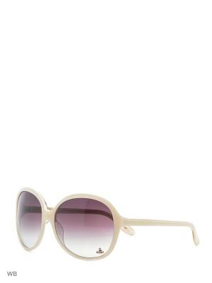 Солнцезащитные очки VW 765 07 Vivienne Westwood. Цвет: белый