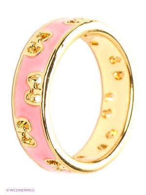 Кольцо Lovely Jewelry. Цвет: золотистый, розовый