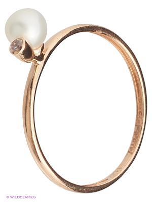 Кольцо LIZA GELD. Цвет: золотистый