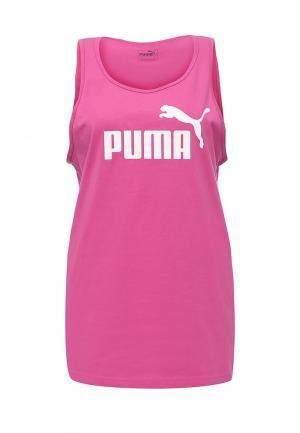 Майка спортивная Puma. Цвет: фуксия