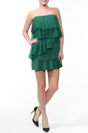 Платье CAMILLA AND MARC. Цвет: зеленый
