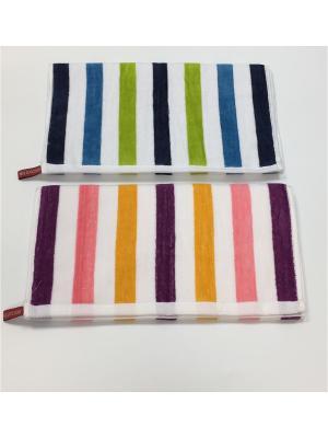 Набор полотенец A and C Collection. Цвет: белый, синий, зеленый
